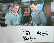 Forbidden Planet Autograph 8x10 Photo Signed by Richard Anderson (LHAU-406)