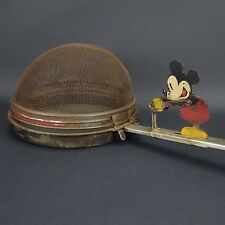 Vintage 1930's Antique Disney Mickey Mouse Metal Popcorn Popper Ohio Art