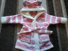 04BG BABY GIRLS 3-6 MONTHS  MINNIE MOUSE DRESSING GOWN FROM DISNEY BABY