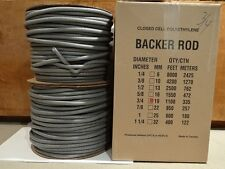 """3/4"""" Closed Cell Foam  Backer Rod - 1100 Ft. - Expansion Joint"""