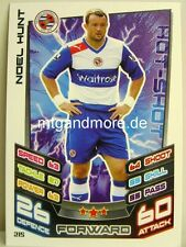 Match Attax 2012/13 Premier League - #215 Noel Hunt - Reading