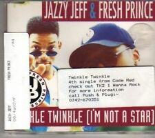 (BX61) Jazzy Jeff, Twinkle Twinkle (I'm Not A Star) - 1994 DJ CD