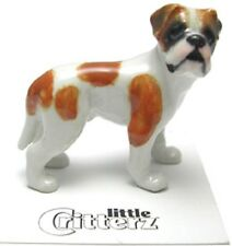 "Little Critterz - LC959 - American Bulldog  ""Aspen"" (Buy 5 get 6th free!)"
