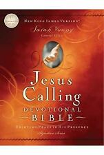NKJV Jesus Calling Devotional Bible,Enjoying Peace in His Presence by SarahYoung
