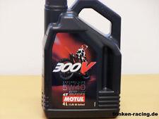 12,48€/l Motul 300V 4T Off Road 5W-40 4 Ltr Ester Core engine oil for bikes