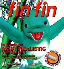 Fin Fin PC CD care for hybrid bird & dolphin animal mix virtual dekstop pet game