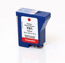 RED Ink Cartridge for PITNEY BOWES 797-0, DM125i, Mailstation 2 / K700 / K7M0