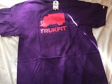 NEW Trukfit Lil Wayne Pink-Purple Trukfit Logo 2XL T-Shirt Skate Urban Apparel