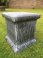 Cast Stone Plinth Pedestal Base Concrete Garden Ornaments Cast Stone