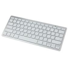 Fino Bluetooth Wireless Ruso Teclado Para Win8 XP IOS Android Mini teclado