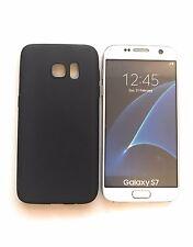 CoverKingz Samsung Galaxy S7 Soft Case Hülle ultradünn slim 0,3 mm schwarz-matt