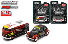 GREENLIGHT GAS MONKEY GARAGE VW VOLKSWAGEN SET OF 2 EXCLUSIVE 1/64 DIECAST 51080