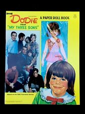 Vintage 1971 Dodie My Three Sons CBS Television Cut Out Doll Paper Dolls Uncut