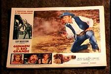 GUNMEN OF THE RIO GRANDE 1965 LOBBY CARD #4 GUY MADISON