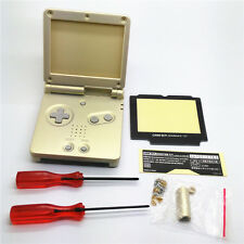 Gold Shell Housing For Nintendo Gameboy Advance SP GBA SP Console New
