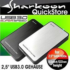 500 GB Externe 2,5 Disque Dur Usb3.0 Sharkoon Rapide L'EnrEgistrEr Portable PRO