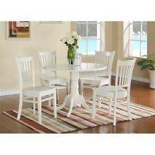 East West Furniture 5 Piece Kitchen Nook Dining Set-Table and 4 Kitchen Chairs
