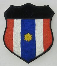 ORIGINAL VIETNAM WAR Vintage THAI Made THAILAND SHIELD PATCH with 1 STAR