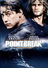 Point Break DVD Patrick Swayze, Keanu Reeves, Gary Busey Brand New!