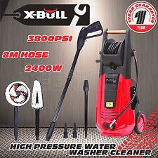 X-BULL High Pressure Water Washer Cleaner 3800 PSI Electric Gurney Pump Hose