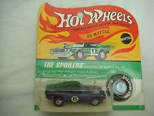 Hot Wheels Redline HK purple MUSTANG BOSS HOSS BLACK ROOF blister BP scarce NM