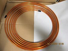 "5/16"" x 25' Soft Coil Refrigeration Copper Tubing Military Grade ASTM B75"