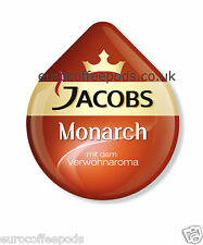 48 x Tassimo Jacobs Monarch Coffee T-disc (Sold Loose)