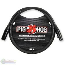Pig Hog PHM3 8mm Tour Grade Mic Cable, XLR 3ft - NEW