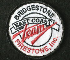 BRIDGESTONE EMBROIDERED SEW ON PATCH  EAST COAST TEAM FIRESTONE TIRES AUTO