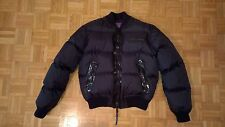 "DSQUARED JACKET BOMBER ""Fighting Dudes"" Tg. 50 Nero (Chaqueta, Veste, Jacke)"