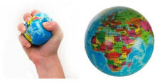Earth Globe World Map Stress Relief Atlas Palm Planet Foam Ball Play Toy Study