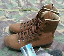 New British Army Meindl Desert Brown Combat Boots UK 11 11M