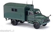 Busch 50811, Hanomag AL 28 MKW Bundesgrenzschutz, H0 Auto Modell 1:87