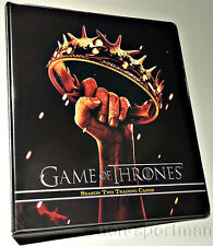GAME OF THRONES 2 SUPER ULTIMATE MINI-MASTER SET & BINDER++