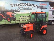 Kubota Traktor BX2350 mit Allrad, Kabine und Fronthydraulik Frontzapfwelle