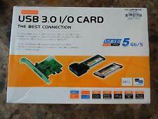 Monoprice 8090 2 Ports USB 3.0 PCMCIA CardBus ExpressCard 5GB/S
