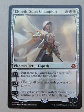 XXX 4x FOIL ELSPETH, SUN'S CHAMPION englisch elspeth vs. kiora (white) NM/MINT