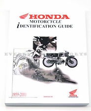 New Genuine Honda Motorcycle Model ID Guide Book US 1959-2000 Great Gift #M72