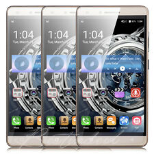 "5.0"" Dual Sim 4Core Android Mobile WIFI 3G SmartPhone Unlocked Cell Phone Touch"
