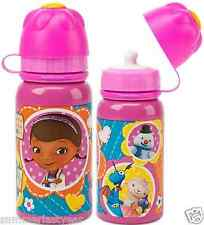 DOC MCSTUFFINS ALUMINUM WATER BOTTLE WITH LID ~DISNEY STORE~ FREE SHIP