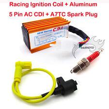CDI Spark Plug Racing Ignition Coil CRF50 Dirt Pit Bike 90cc 125 140 150cc 160cc