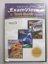 Prentice Hall Physical Life and Earth Science ExamView Test Bank CD 0132035243