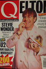 Q MAGAZINE, No 103, APR 95 feat ELTON, U2, BOO RADLEYS, MORRISSEY, STEVIE WONDER