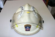 CAIRNS N660 PHOENIX FIREFIGHTERS HELMET WHITE WASHINGTON DC SERGEANTS MARKINGS