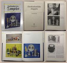 Swenger Kunsthandwerkliches Zinngießen 1980 Kunst Handwerk Technik Zinnguss xz