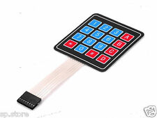 16 KEY MEMBRANA switch Keypad Keyboard 4 x 4 matrice array Arduino Tastiera diapositive
