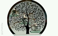 Tree of Life Silver Glass 3x Tea Light Candle Holder Decorative Ornaments NEW