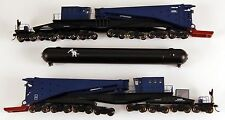 Bachmann HO Scale Train 380-Ton Schnabel Transformer Rail Car Blue & Black 80511
