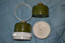 Replacement charcoal filter+for antiaerosol Russian gas masks and other Ø40mm.