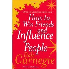 How to Win Friends and Influence People Carnegie Vermilion PB / 9780091906818
